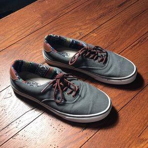 Vans Baja Edition size 10.5 Gray sneakers